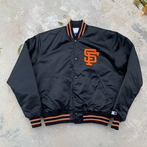 Vintage 80s San Fransisco Giants Starter Jacket
